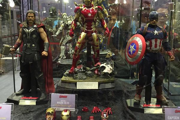 Hot Toys Thor Captain America Iron Man