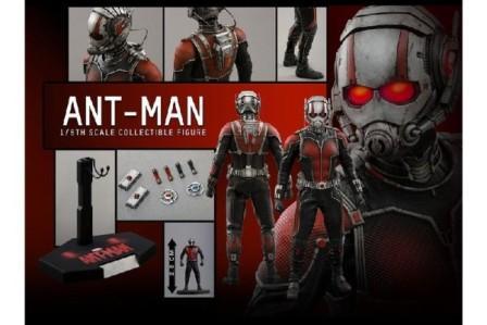 ant-man hot toys miniatura