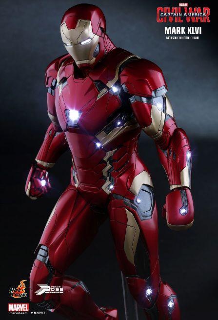 Hot Toys Iron Man Civil War 2016