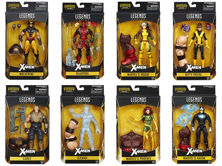 Figurki Marvel 2016 X-men baf juggernaut zapakowane