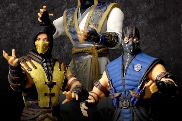 Figurki Mortal Kombat 3.75 Scorpion Sub Zero Raiden