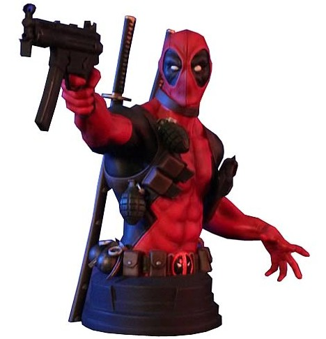 Gentle Giant Deadpool Bust