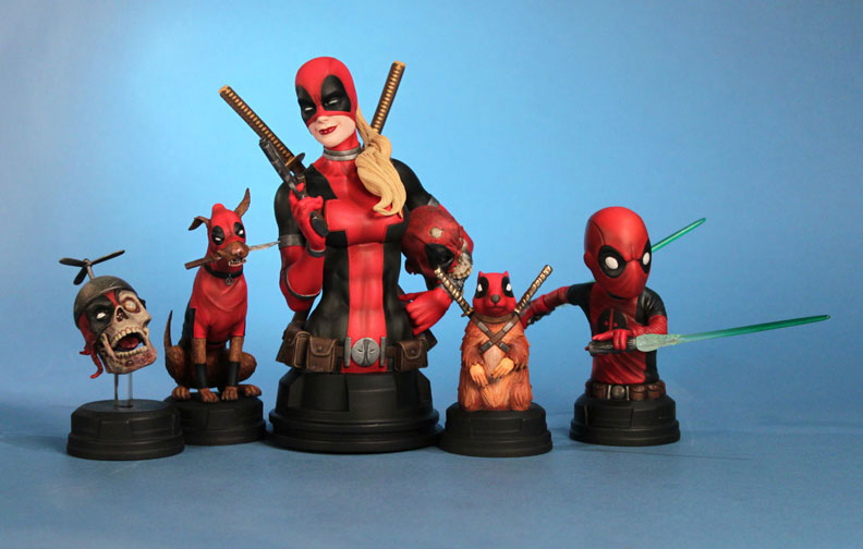 Gentle Giant Deadpool Corps