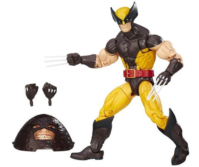 Marvel Legends Wolverine baf juggernaut
