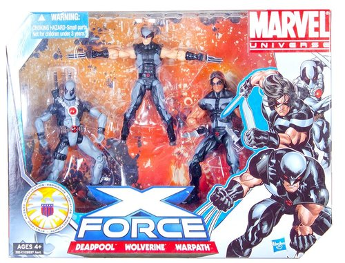 Marvel Universe Deadpool X-Force