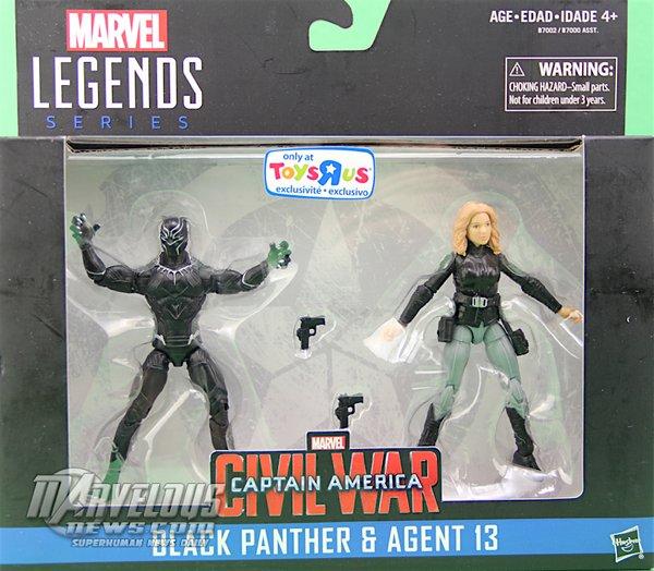 marvel legends 3.75 black panther agent 13