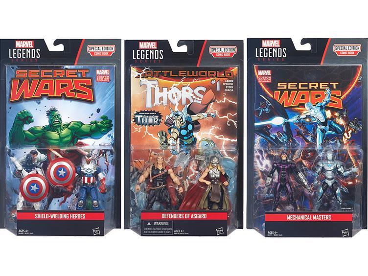 marvel legends 3.75 comic packs boxed