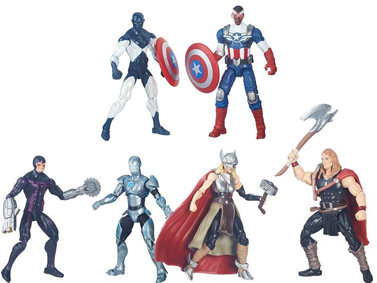 marvel legends 3.75 comic packs