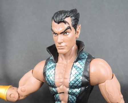 Marvel Legends 6 Namor twarz