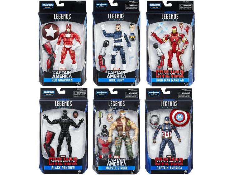 Figurki Marvel Civil War Marvel Legends