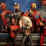 Figurki Marvel Legends Civil War miniaturka