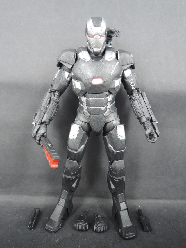 Marvel Civil War 2016 War Machine Marvel Legends