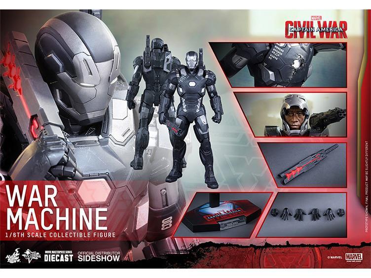Figurki Marvel Civil War Hot Toys