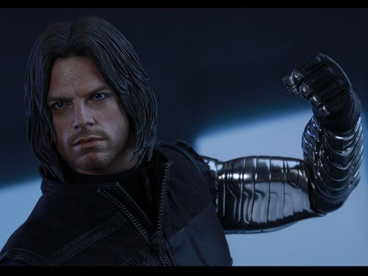 Marvel Civil War Winter Soldier head