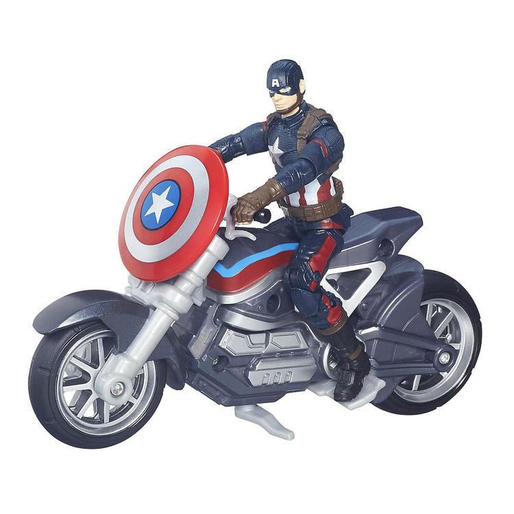 figurki marvel civil war kapitan ameryka