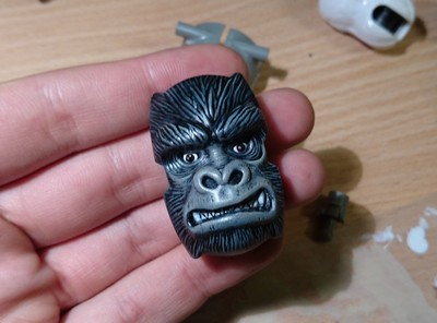 Custom Beast Wars Optimus Primal miniatura