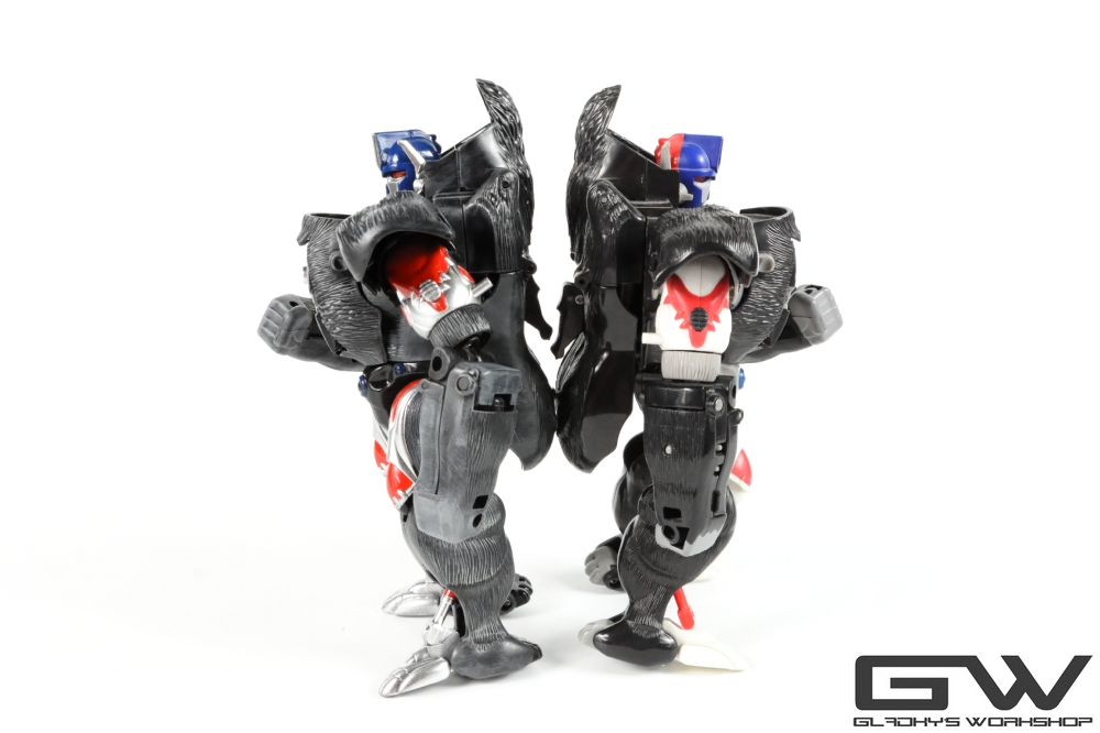 Gladkys Workshop Custom Beast Wars Optimus Primal (12)