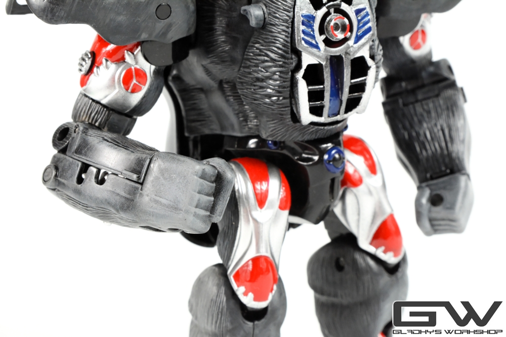 Gladkys Workshop Custom Beast Wars Optimus Primal (7)
