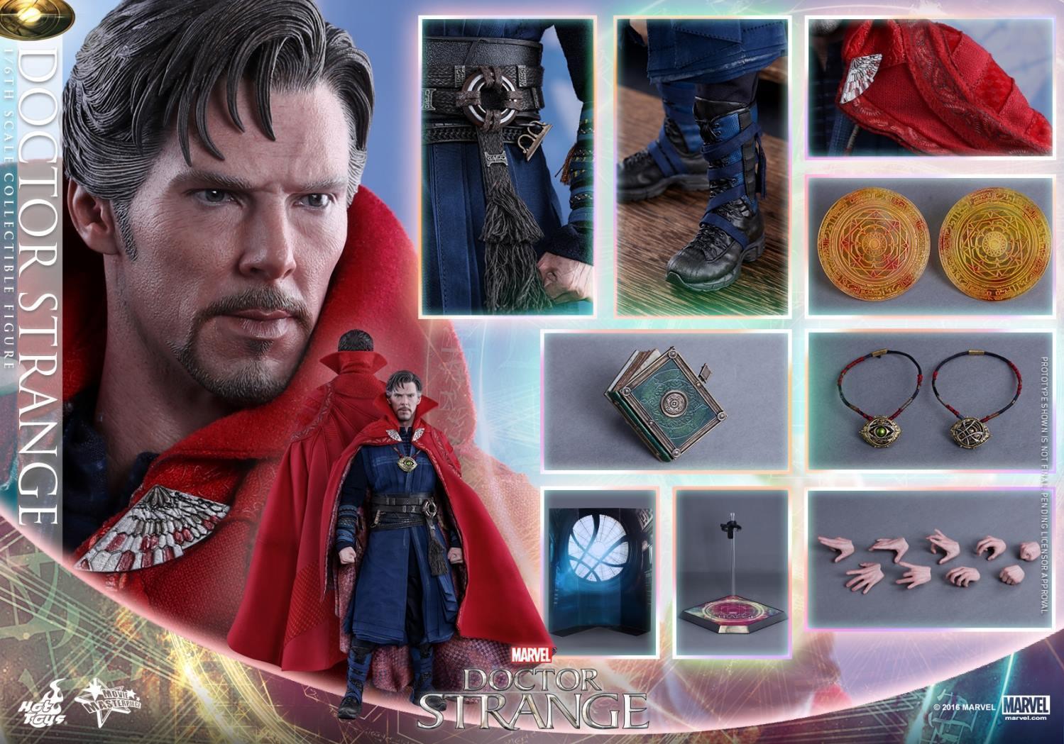 Figurki Doctor Strange Hot Toys