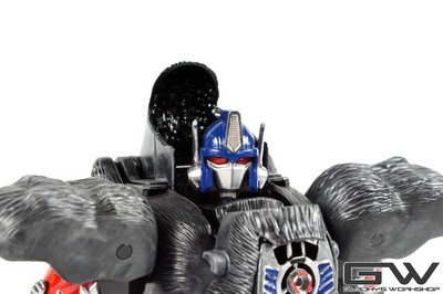 Miniatura Gladkys Workshop Custom Beast Wars Optimus Primal