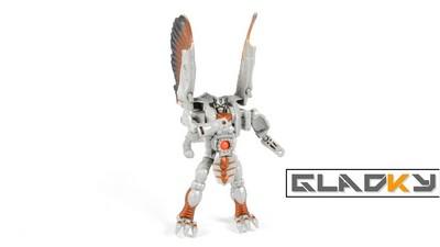 Miniatura Maniacy Beast Wars Silverbolt