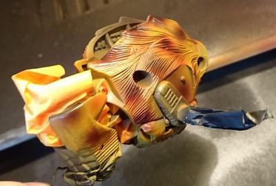 Custom Beast Wars Transmetal II Cheetor WIP Miniatura Maniacy