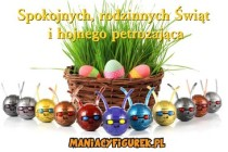 Kartka Wielkanoc Maniacy Mini