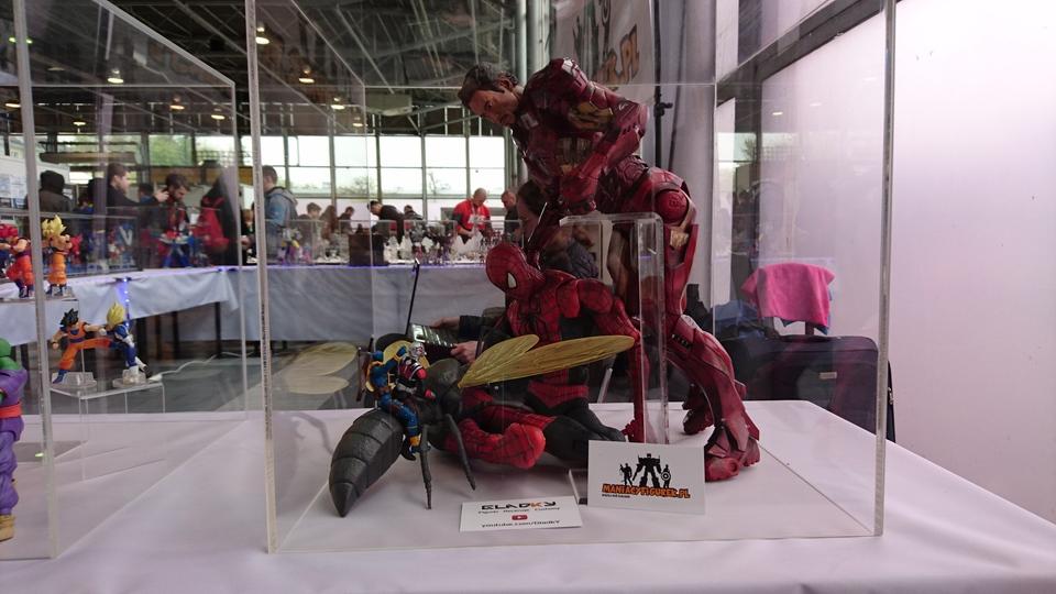 Pyrkon 2017 Marvel figuki diorama
