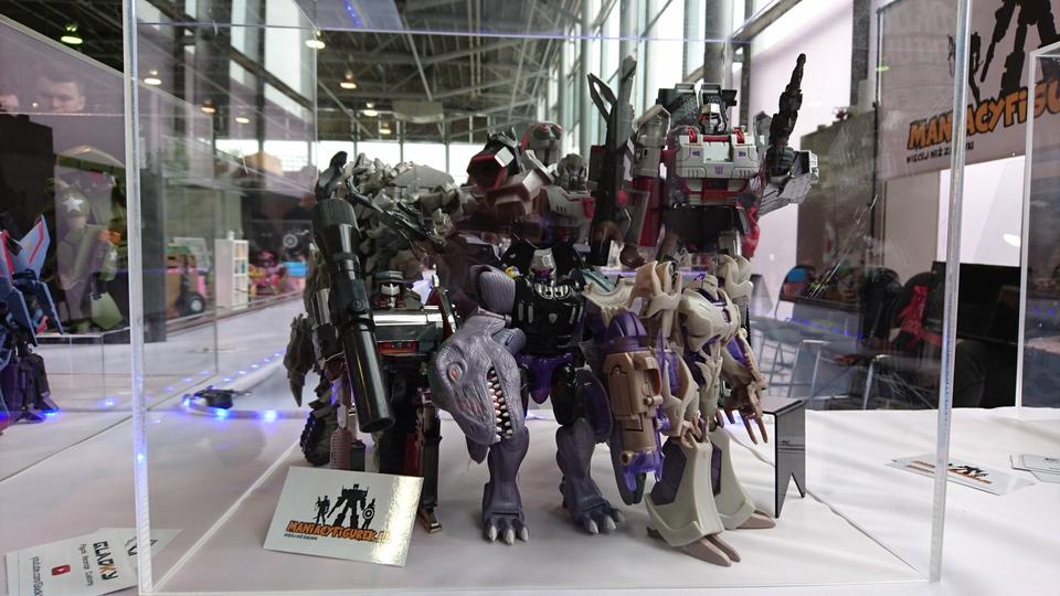 Pyrkon 2017 Transformers Megatron diorama