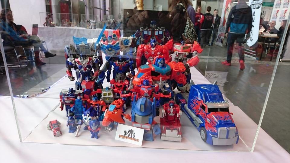 Pyrkon 2017 Transformers Optimus Prime diorama