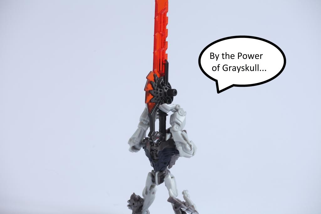 Transformers The Last Knight Grimlock as Adam MOTU