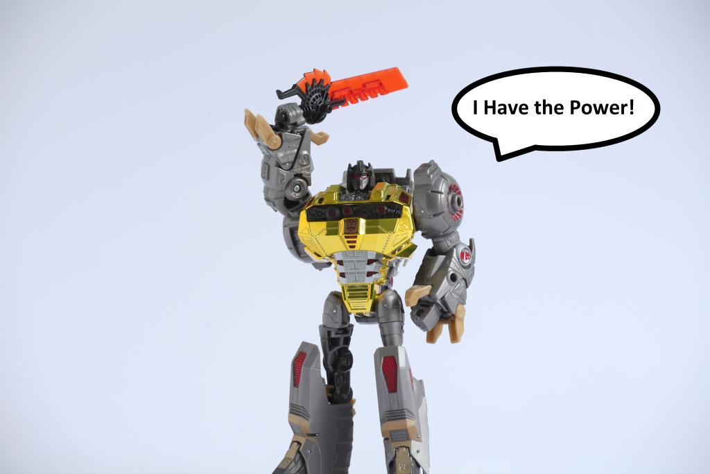 Transformers The Last Knight Grimlock as He-Man