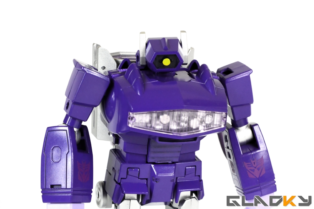 Gladky's Workshop Custom Transformers Masterpiece Shockwave