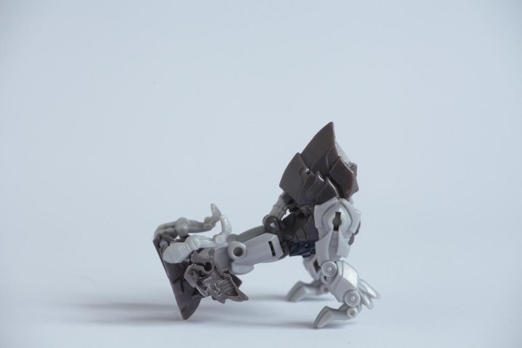 Transformers The Last Knight Grimlock transformacja