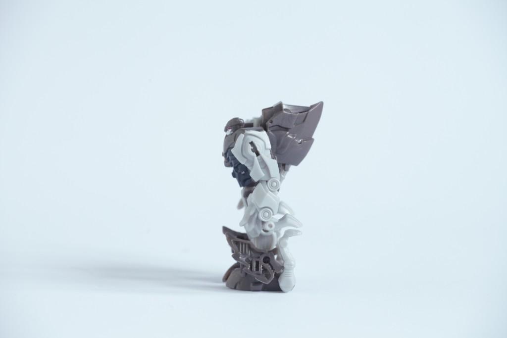 Transformers The Last Knight Grimlock tryb robota z profilu