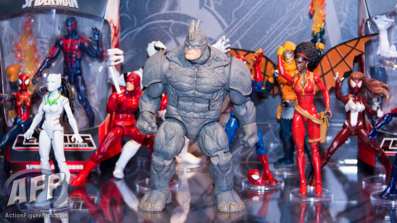 marvel legends spiderman rhino