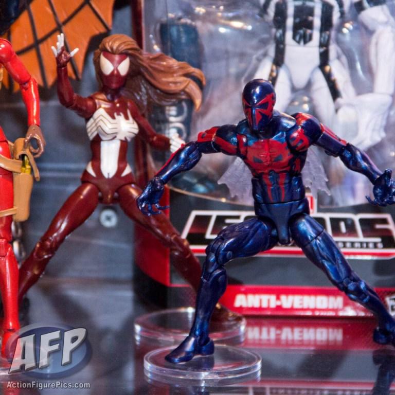 marvel legends spiderman spiderwoman
