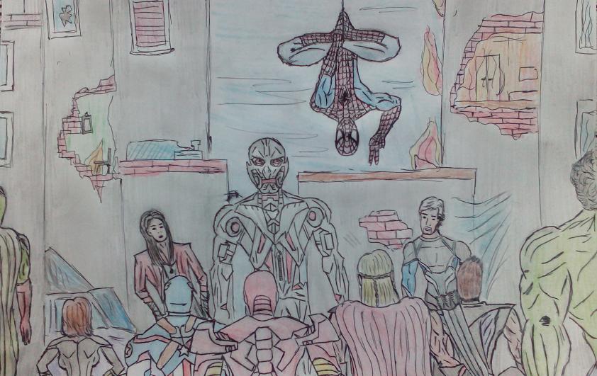 Avengers ultron spider-man