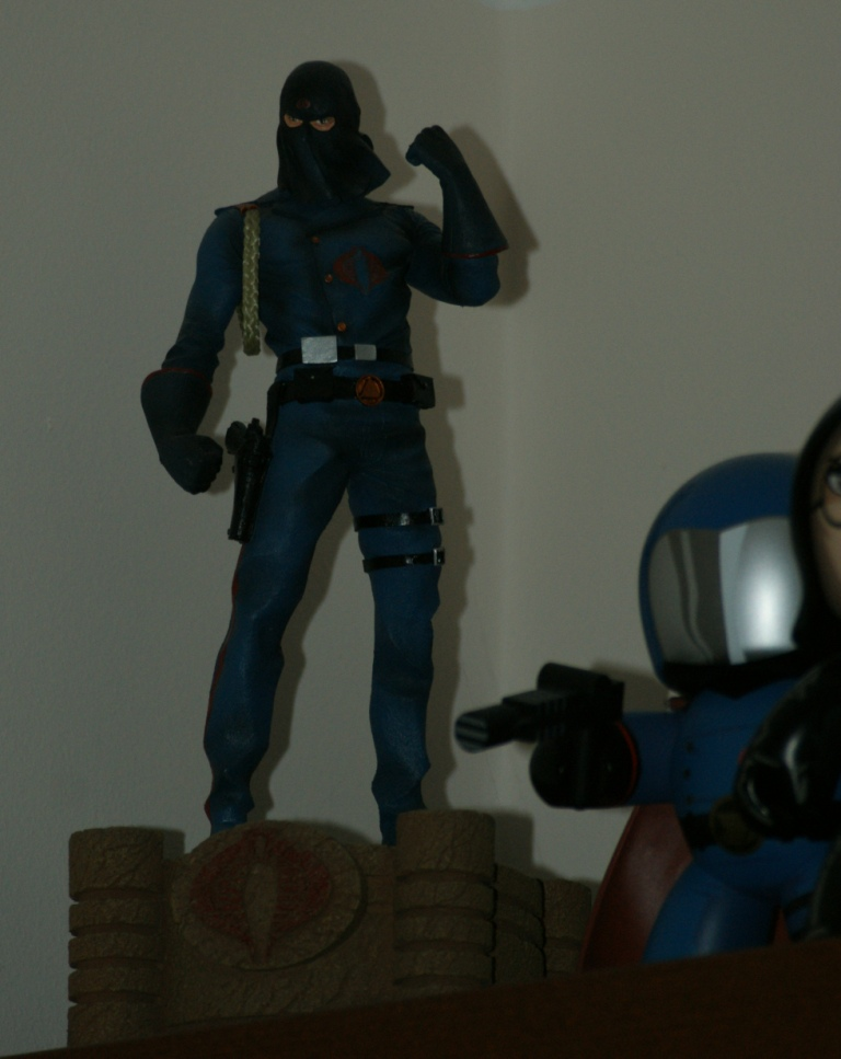 cobra commander statue