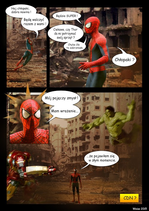 Spider-Man Hulk Hulkbuster komiks
