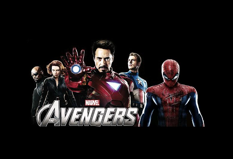 Spider-Man in MCU poster