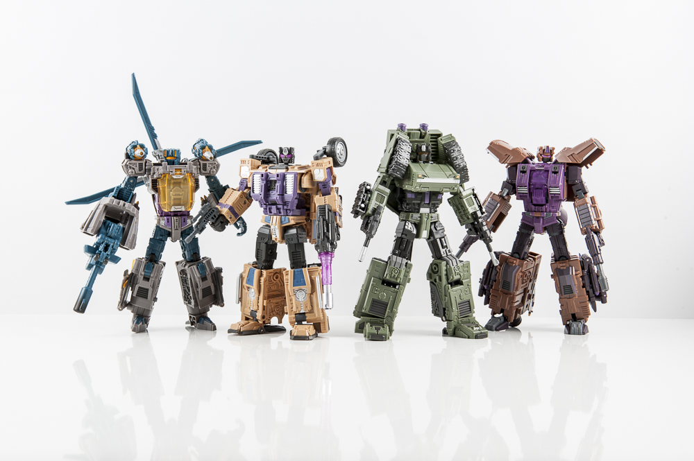 transformers masterpiece swindle combaticon g1 bruticus decepticon warbotron sly strike combiner gestalt combaticons decepticon warbotron sly strike  heavy hoisy brawl blast off vortex  whirlwind  air burst
