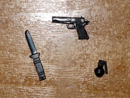 knife and gun
