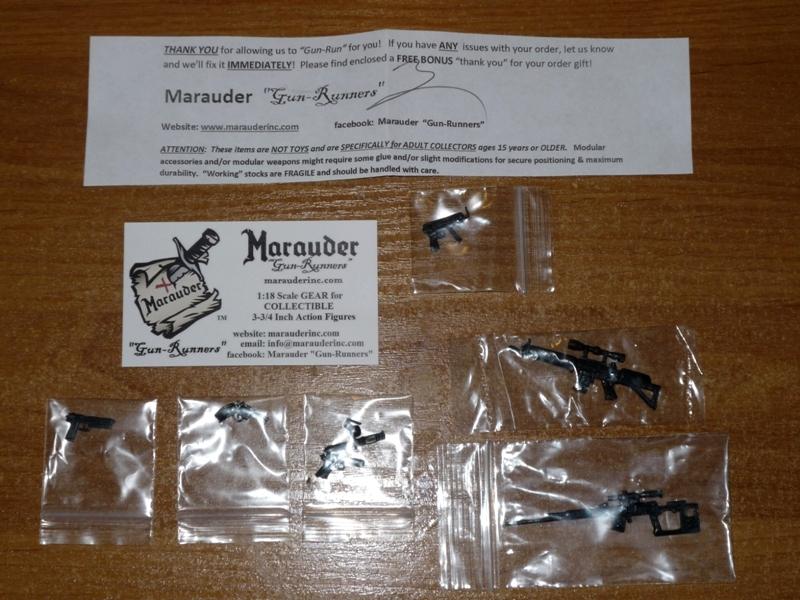 marauders guns