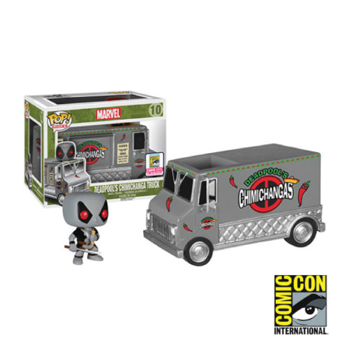 sdcc 2015 marvel funko chimichanga truck