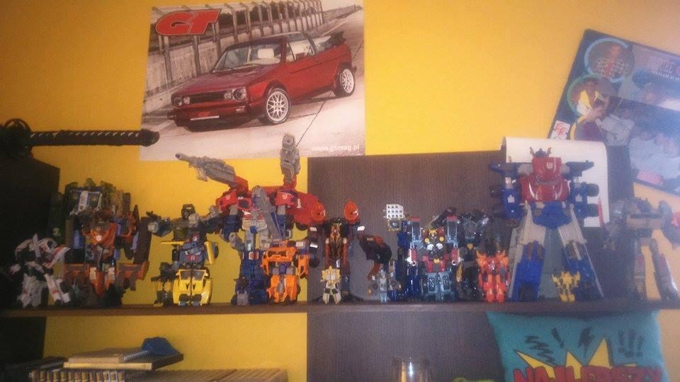 Kolekcja figurek Transformers