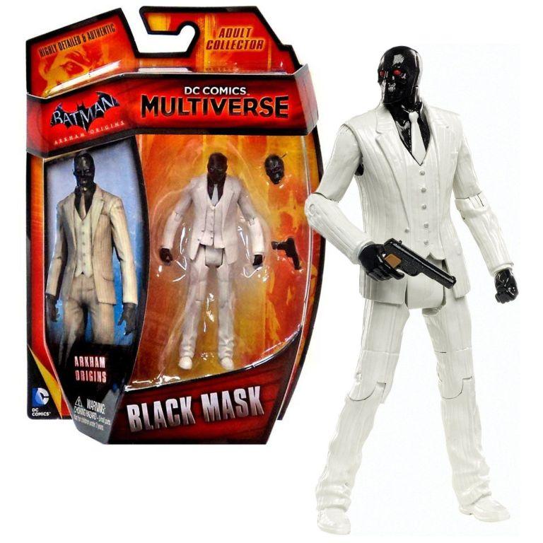 dc comics 4 inch black mask
