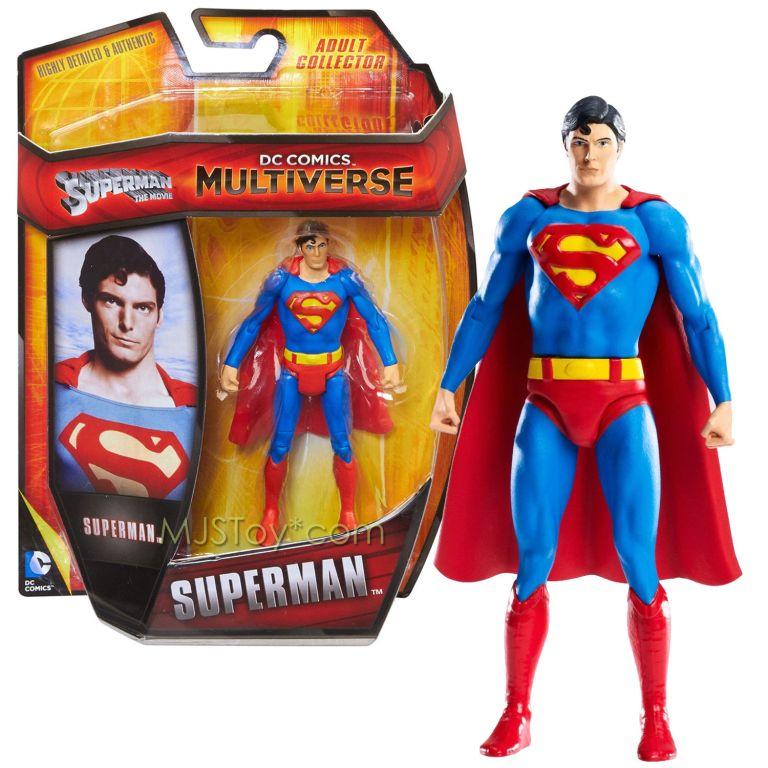 dc comics 4 inch superman vintage