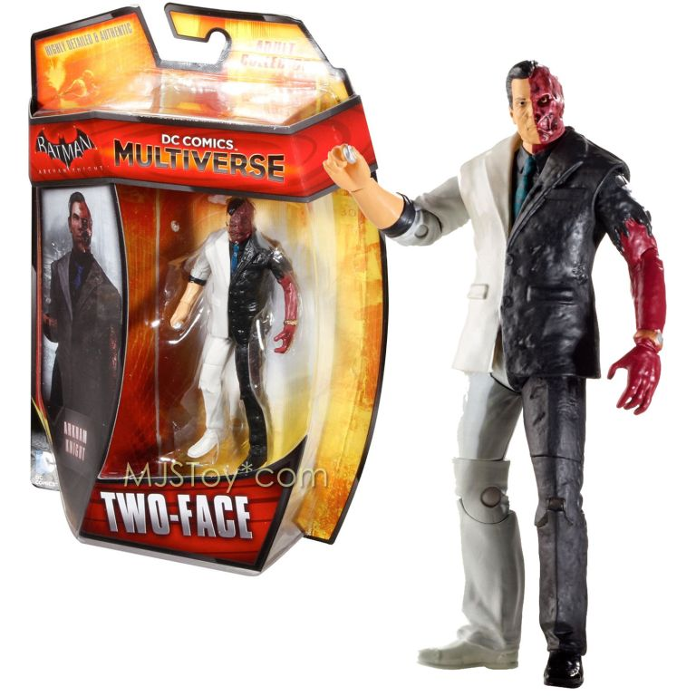 dc comics 4 inch two faces