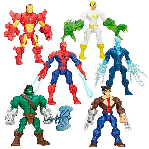figurki hasbro marvel super hero mashers